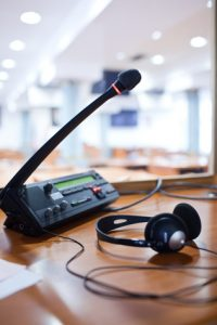 Simultaneous interpreting equipment rental doesn't have to be hard.