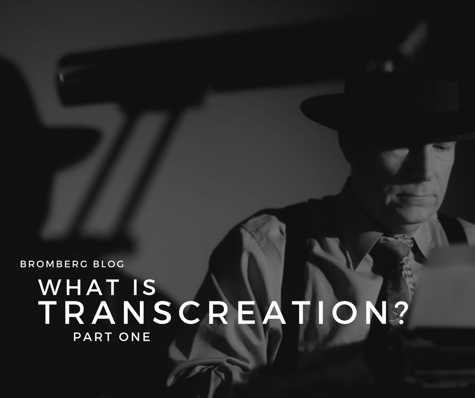 ?What is Transcreation