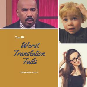 Top 10 Worst Translation Fails