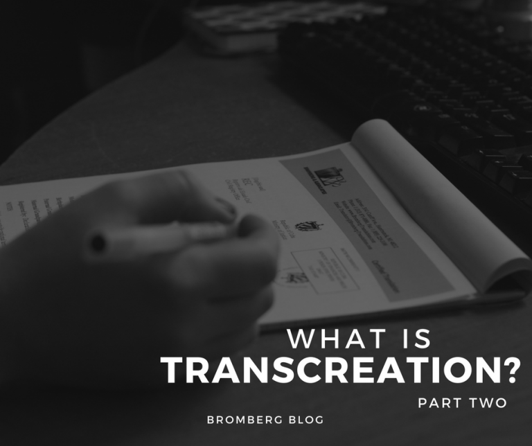 Transcreation Services