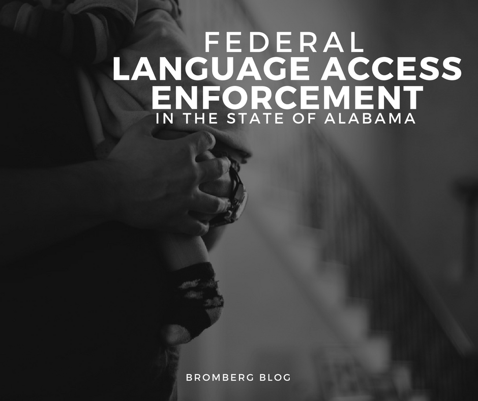 Federal Language Access Enforcement in the State of Alabama