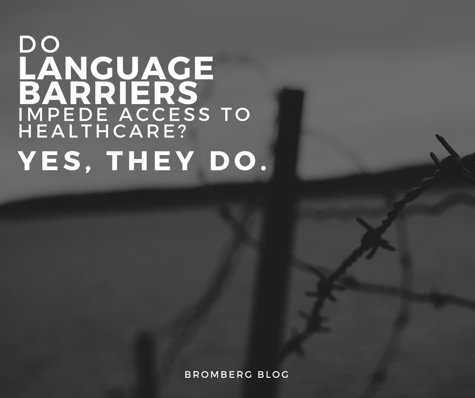 Do Language Barriers Impede Access to Healthcare? Yes, They Do.