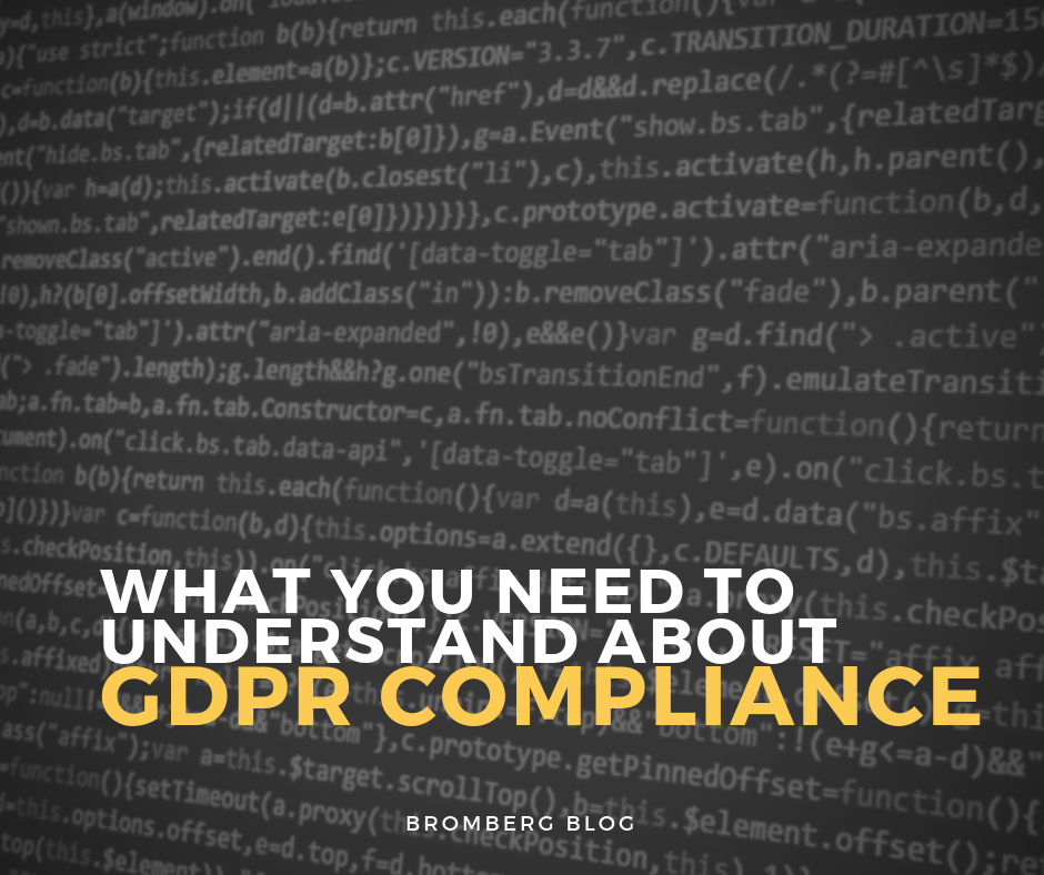 Everything You Need to Know About GDPR Compliance