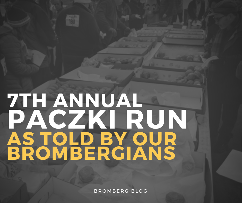 7th Annual Paczki Run: As Told by our Brombergians