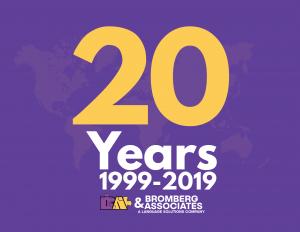 Bromberg & Associates 20th Anniversary: Language Access Champions