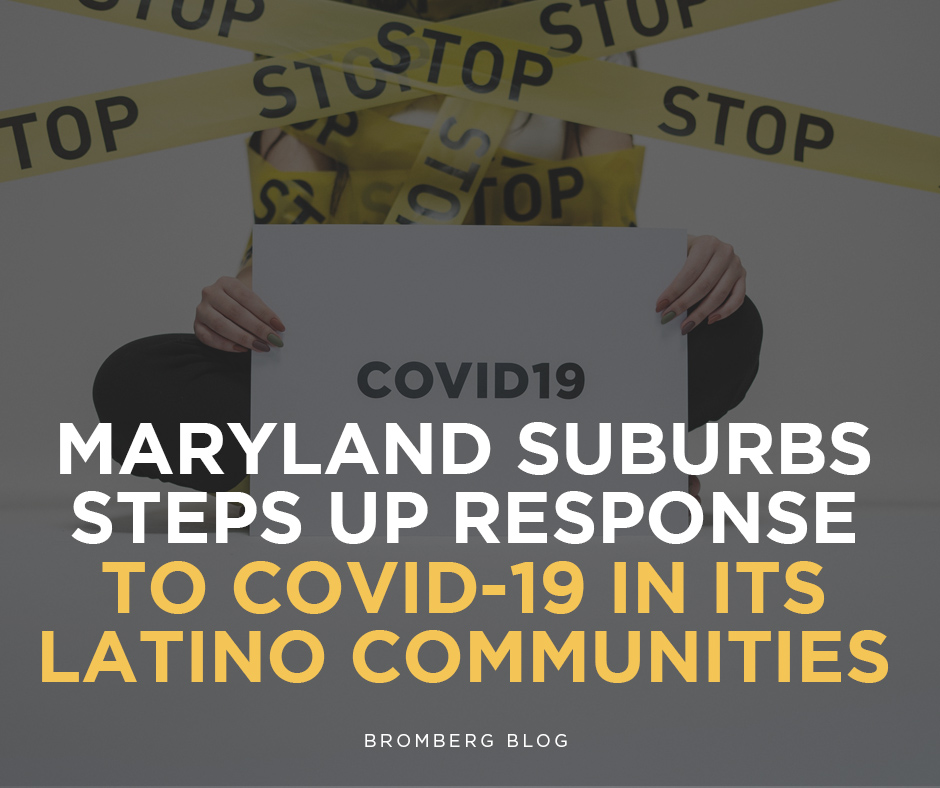 Maryland suburb steps up response to COVID-19 in its Latino communities