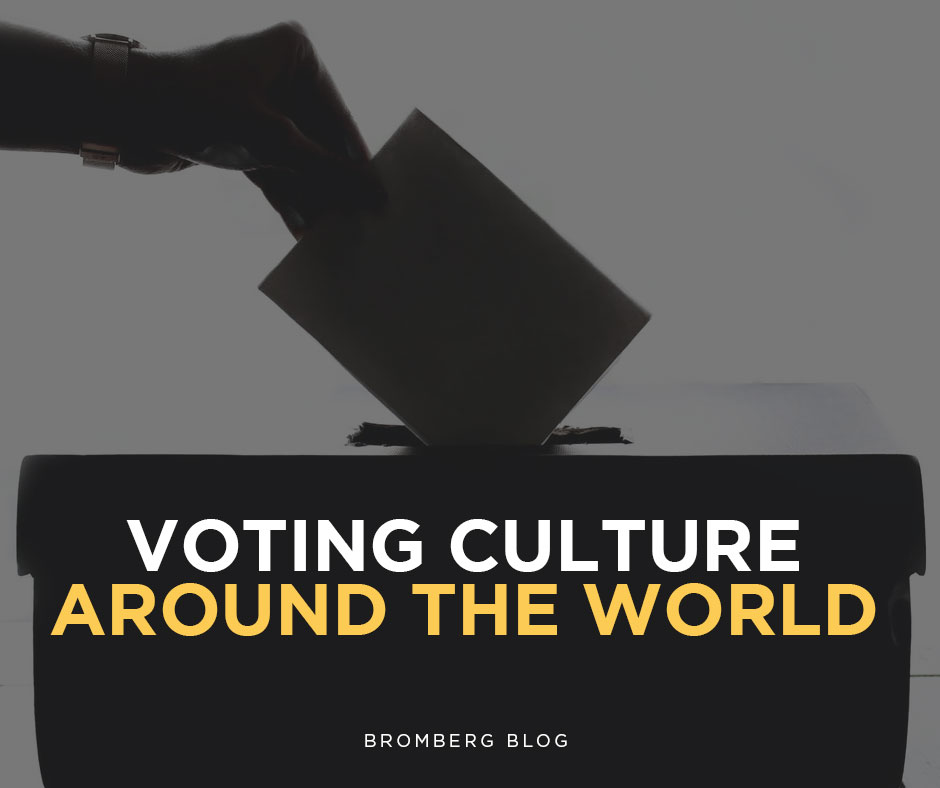 Voting culture around the world.