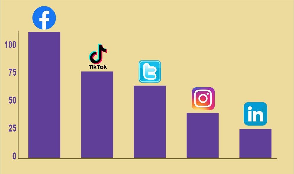 Languages Available per Social Media