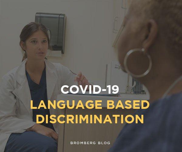 Covid Language Based Discrimination