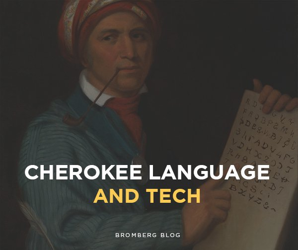 cherokee language and tech